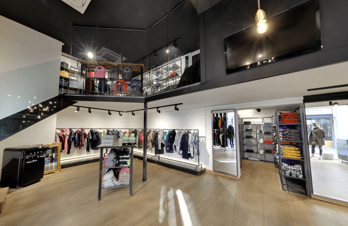 Superdry, Clothes Store